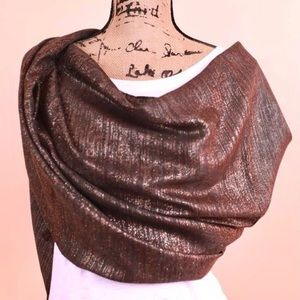 Lurex Soft & Shimmery Party Scarf & Stole